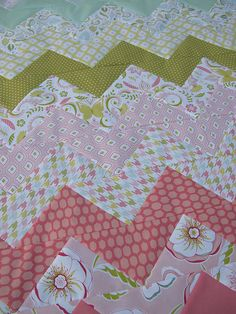 Threadbias: Bella Butterfly Zig Zags for Baby by Rebecca