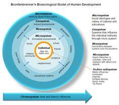 Bronfenbrenner's Bio-ecological model for human development.