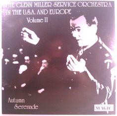 Glenn Miller Service Orchestra - Autumn Serenade (vol.2) Glenn Miller, Orchestra, Jazz, Autumn, Rock, Movie Posters, Fall Season, Jazz Music, Skirt