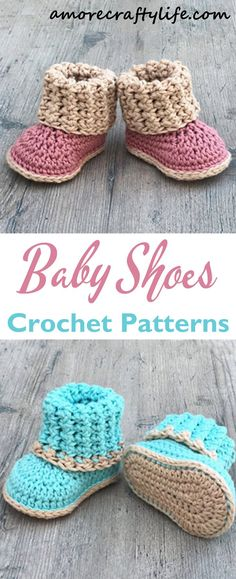 Make a cute pair of baby shoes baby shoes crochet patterns baby gift crochet pattern pdf amorecraftylife com baby crochet crochetpattern diy babygift best crochet baby shoes free pattern easy ideas crochet baby Booties Crochet, Crochet Baby Sandals, Baby Girl Crochet, Crochet Baby Clothes, Crochet Shoes, Crochet Slippers, Baby Booties, Baby Bootie Crochet Pattern, Crochet Dolls