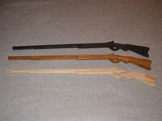 Wooden Toy Rifle