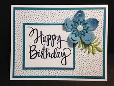 My Creative Corner!: A Stylized Birthday Botanical Builders and Serene Scenery Birthday Card