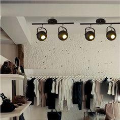 (EU Lager)Retro Strahler 2-flammig im Wohnzimmer Esszimmer Kaufhaus