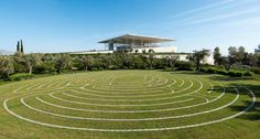 Italian architect Renzo Piano has finished a major new park, library and theatre complex in Athens, the Stavros Niarchos Cultural Centre. Renzo Piano, Stavros Niarchos, Greece Design, Exterior, Cultural Center, Athens Greece, Art Museum, Landscape, Architecture