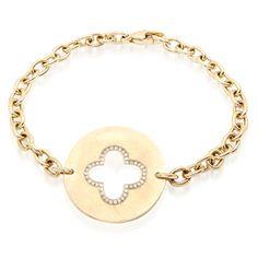 Love Rocks NY | Bracelets | links bracelet :: clover