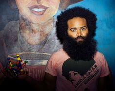 Kyp Malone. Fascinated by his fro and beard circumference, always and forever.