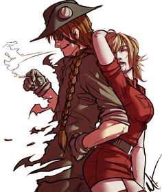 Pip and Seras :'D