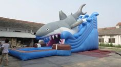 Fantastic Bouncy Inflatable Water Parks Inflatable Water Slide