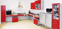 Ameublement thérapeutique | Innovation Cuisine: Four réglable en hauteur dans une cuisine adaptée pour personnes en fauteuil roulant