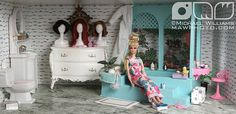 Fashion Doll Dioramas | Recent Photos The Commons Getty Collection Galleries World Map App ...