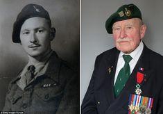 fc38dd7609f21 Veterans carry coffin of Royal Marine Commando D-Day hero  newsheadlines   newnews