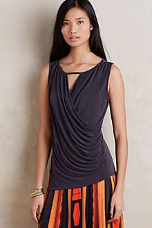 Awesome top--I m all about the drape. Beautiful Blouses 9c0c8aaf28d
