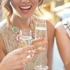 Roundup of the best of the best from around the wedding blog world including fabulous spring bachelorette party styling from Fab You Bliss!