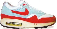 Nike Air Max 1. Designed by Tinker Hatfield, 1987.