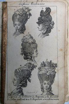 "Vanessa Wood, ""Hair: 18th Century."" http://pinterest.com/vessangel/hair-18th-c/"