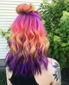 52 New Ideas Nails Pastel Purple Dyes pastell, Pretty Hair Color, Beautiful Hair Color, Hair Dye Colors, Cute Hair Colors, Underlights Hair, Pinterest Hair, Bright Hair, Aesthetic Hair, Dye My Hair