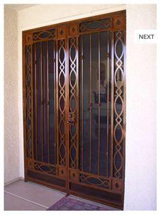 Window and door security bars | For the Home | Pinterest | Window ...