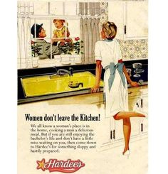 Hardee's: It'll Do Unt... is listed (or ranked) 4 on the list Vintage Ads That Are Offensively Sexist