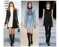 La tendance mode Sweet Sixties automne-hiver 2014 2015