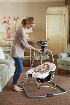 DuetConnect® LX With Multi Direction Is A 2 In 1 Baby Swing
