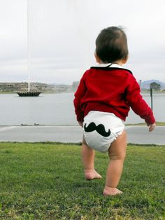 bohemian baby couture custom diapers. I need these for my soon to come Nephew :)