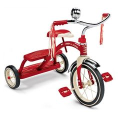 Radio Flyer Classic Red Dual Deck Tricycle Picture