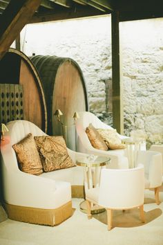 Sonoma Wedding at Buena Vista Winery  Read more - http://www.stylemepretty.com/2014/02/04/sonoma-wedding-at-buena-vista-winery/