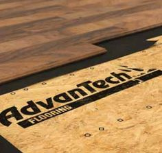 AdvanTech Flooring, AdvanTech Subflooring, AdvanTech Floor | Huber Engineered Woods