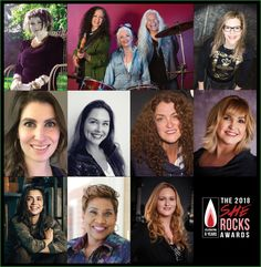2018 She Rocks Awards Honorees Announced