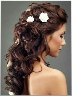 Gorgeous Wedding Hair | Beautiful wedding hairstyle | hair