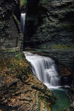 """12 Incredible Hikes Under 5 Miles Everyone In New York Should Take"" 2. Watkins Glen State Park, Watkins Glen"