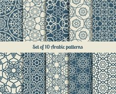 Arabic patterns by ssstocker on Creative Market