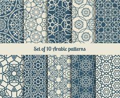 Arabic patterns by ssstocker on Creative Market