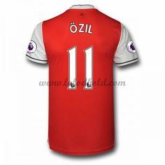 Billige Fodboldtrøjer Arsenal 2016-17 Ozil 11 Kortærmet Hjemmebanetrøje