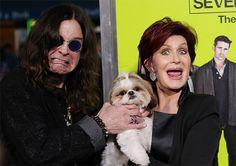 Ozzy & Sharon Osbourne Seven Psychopaths Premiere