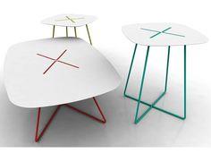 #Furniture Sencillez exquisita. Tavolino da caffè CROSS by DOMITALIA | design Andrea Radice & Folco