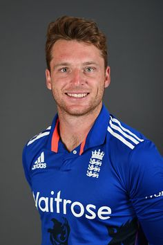 Jos Buttler of England poses for a portrait at Trent Bridge on June 20 2016 in Nottingham England