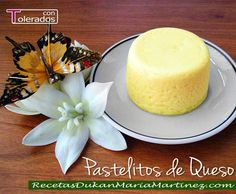 Unos pasteles de queso Dukan tan ricos como los que ves en el supermercado, pero sin azúcar ni grasa.