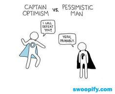 Captain Optimism to the rescue!