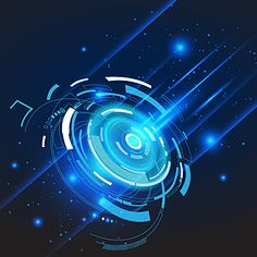 Fantasy Background, Waves Background, Background Images Hd, Light Blue Background, Geometric Background, Lights Background, Vector Technology, Technology Photos, Futuristic Technology