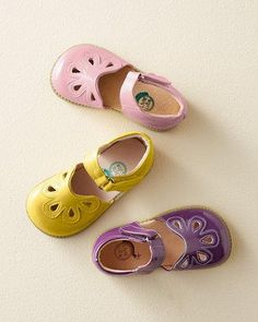 471ad090112 Livie  amp  Luca Petal Mary Janes..growing up with shoes like this will