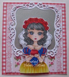 Helen's Crafty Shed: Lilly Snow White