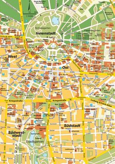 This old map shows how the streets of Karlsruhe radiate out from the
