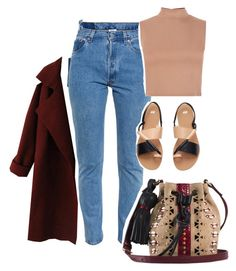 """"""".-."""" by heba-j ❤ liked on Polyvore featuring Vetements, Tamara Mellon and H&M"""