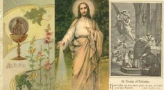 32 Beautiful Holy Cards From Another Era of the Church