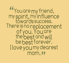 Dear Mom Quotes From Daughter