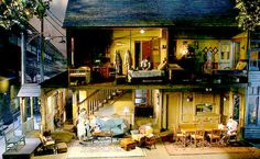 Scenic designer John Lee Beatty's design for the Broadway revival of 'Brighton Beach Memoirs.'