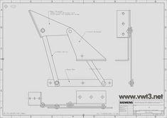 vwt3.net Vanagon T25 Syncro — Mecanismo sofa cama CAMPER: planos técnicos e... Kombi Camper, Vw Vanagon, Kombi Home, Campervan, T3 Vw, Volkswagen Bus, Rock And Roll Bed, Transporter T3, Steel Sofa