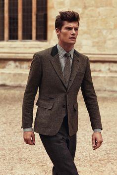 Autumn inspired men's style.