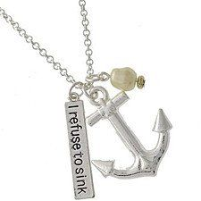 """Buy """"The Sea Calls To Me"""" Necklace With 2 Charms by Charmed Elements Jewelry on OpenSky"""